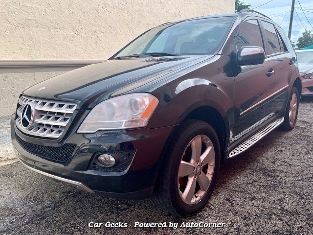 2009 Mercedes Benz M-Class ML350 4MATIC 7-Speed Automatic
