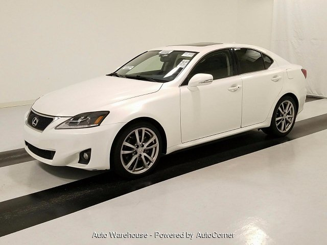 2011 Lexus IS 250 RWD 6-Speed Automatic