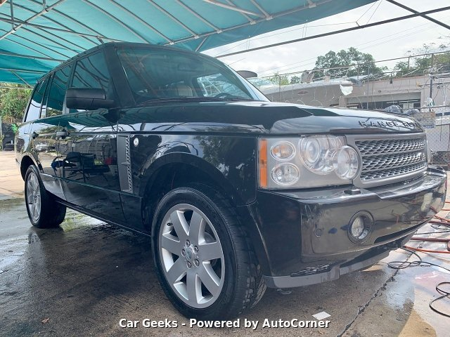 2008 Land Rover Range Rover HSE 6-Speed Automatic