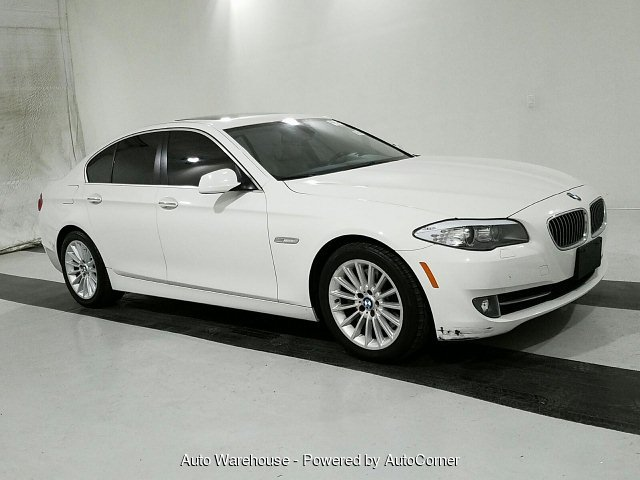 2011 BMW 5-Series 535i 8-Speed Automatic